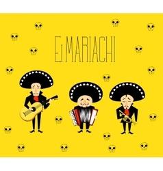 El Mariachi vector image