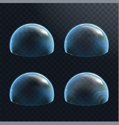 Force field on transparent background vector