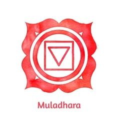 Muladhara chakra vector