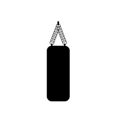 punch bag icon vector image