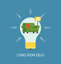 Room Ideas for a Living Room vector
