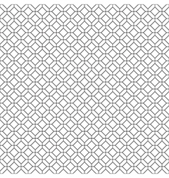 Simple seamless diamond pattern vector image