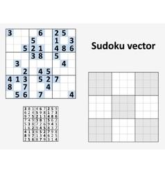 Symmetrical sudoku vector