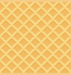 Waffle seamless pattern vector