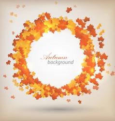 Autumn background 3 vector image