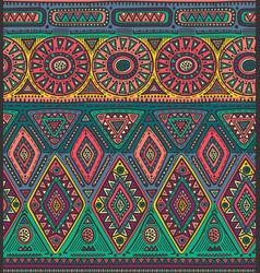 Seamless pattern for tribal design ethnic vector