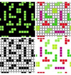 Tetris vector image