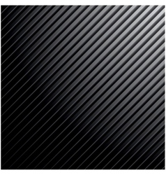 Metal dark striped background vector image vector image