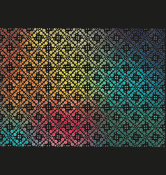 Abstract rainbow gradient background with small vector