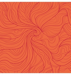 Abstract whirlpool seamless pattern in red tints vector