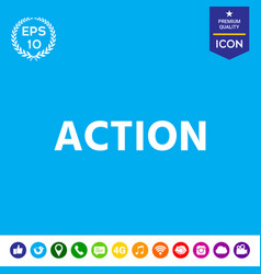 Action button vector