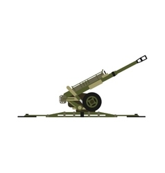 Air defense gun vector