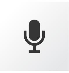 Audio icon symbol premium quality isolated mike vector