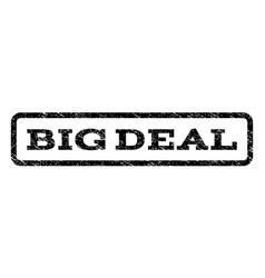 Big deal watermark stamp vector