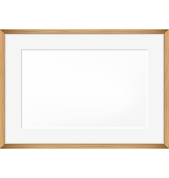 Blank of Photo frame vector