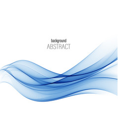 blue abstract wave abstract background wave vector image
