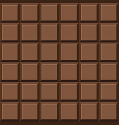 Chocolate bar pattern vector