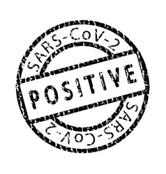 covid-19 grunge stamp-01 vector image