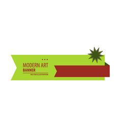 design banner background vector image