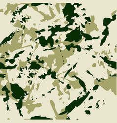 Green forest seamless pattern - camouflage vector
