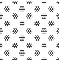 little honeycomb pattern vector image