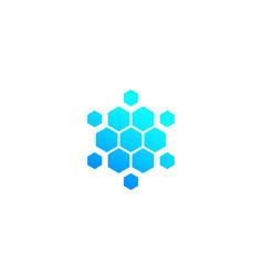 Nano materials icon vector