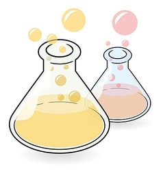 Conical Flask vector image vector image
