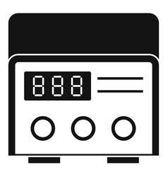 Professional tattoo machine icon simple vector