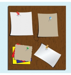 stationery items vector image vector image