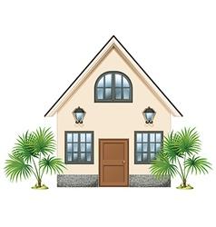 A simple house vector
