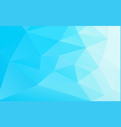 abstract geometric business blue background vector image