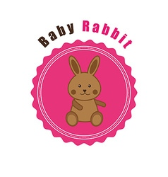 baby animals design vector image
