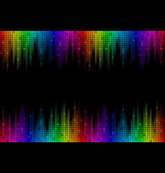 Background with sound scale vector
