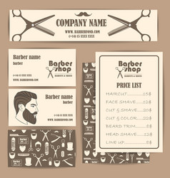 barber1 vector image