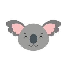 Cute cohala animal icon vector