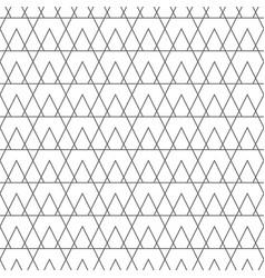 Line triangle tiny seamless pattern vector