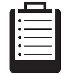 medical clipboard icon vector image