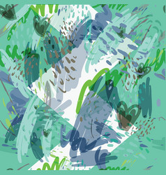 Military camouflage texture with trees branches vector