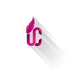 Purple pink upper class logo vector