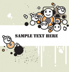 tag background vector image