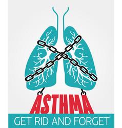 Banner asthma chain-bound vector