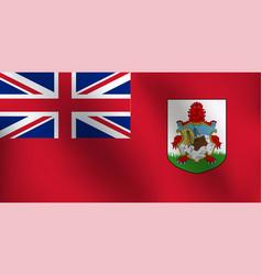 flag of bermuda - vector image