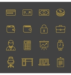 Network and mobile devices vector image