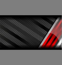 red grey metal background vector image vector image