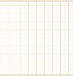 yellow architect graph paper repeat grid vector image