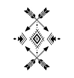 aztec element vector image