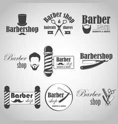 barber1 vector image