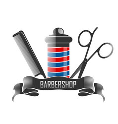 barbershop and hairdresser vector image
