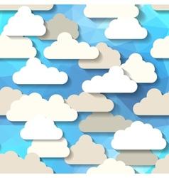 Cartoon sky vector image