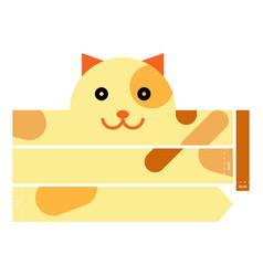 Cat headband vector